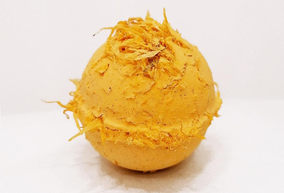 Organic Lemongrass & Sweet Orange Bath Bomb