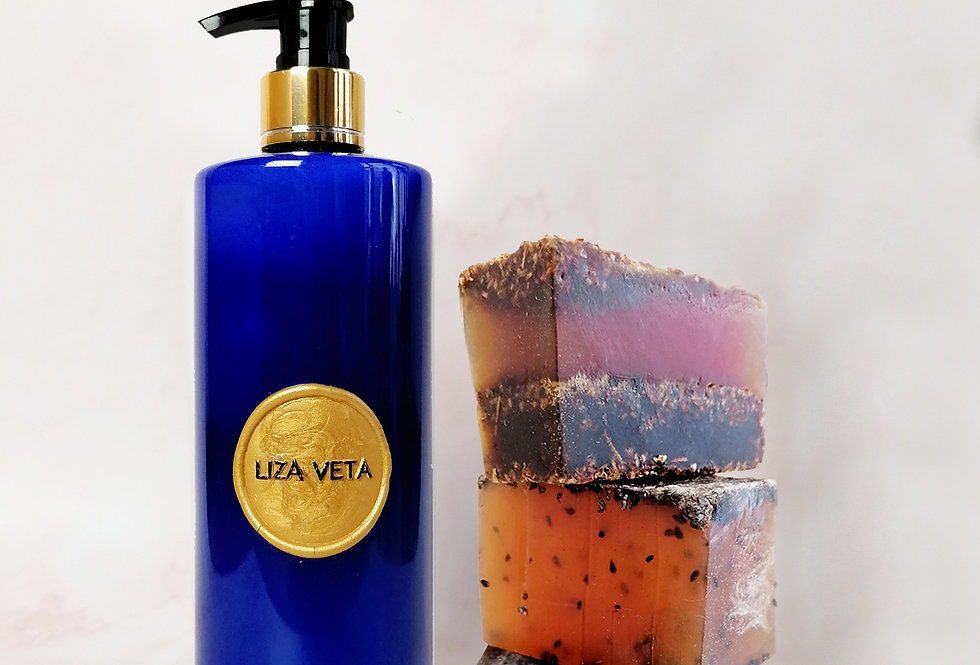 Bergamot & Lemongrass Shower Gel & Soap Set