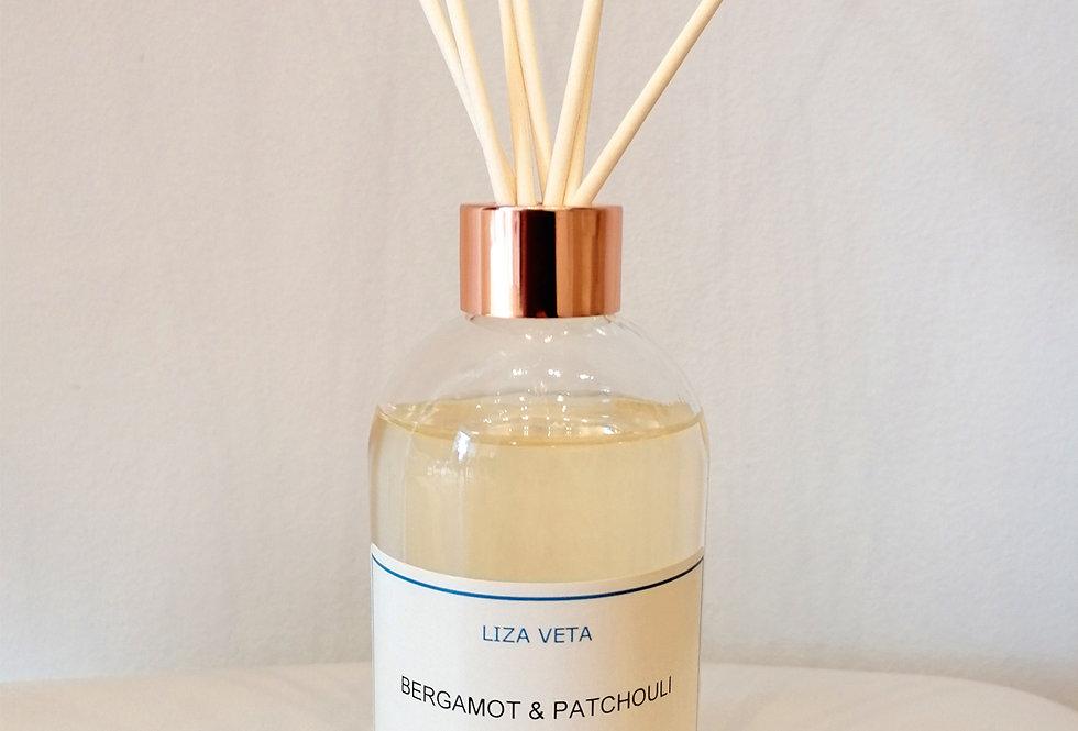 Bergamot & Patchouli Diffuser 200 ml