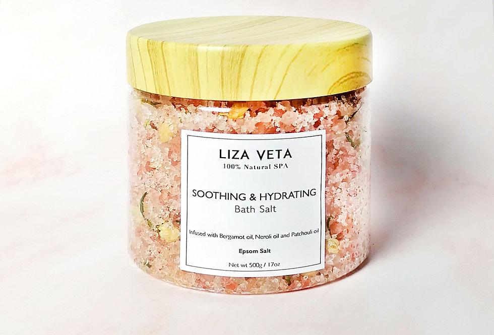 Soothing & Hydrating Bath Salt 500g