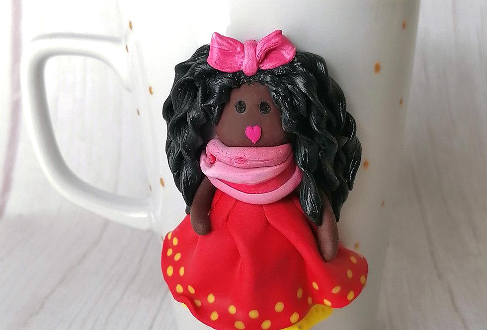 Doll Mug - Red