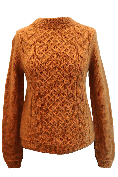 Ginger Hand-Knitted Sweater