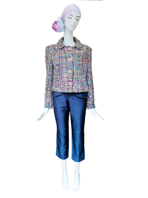 Silk Tweed Jacket