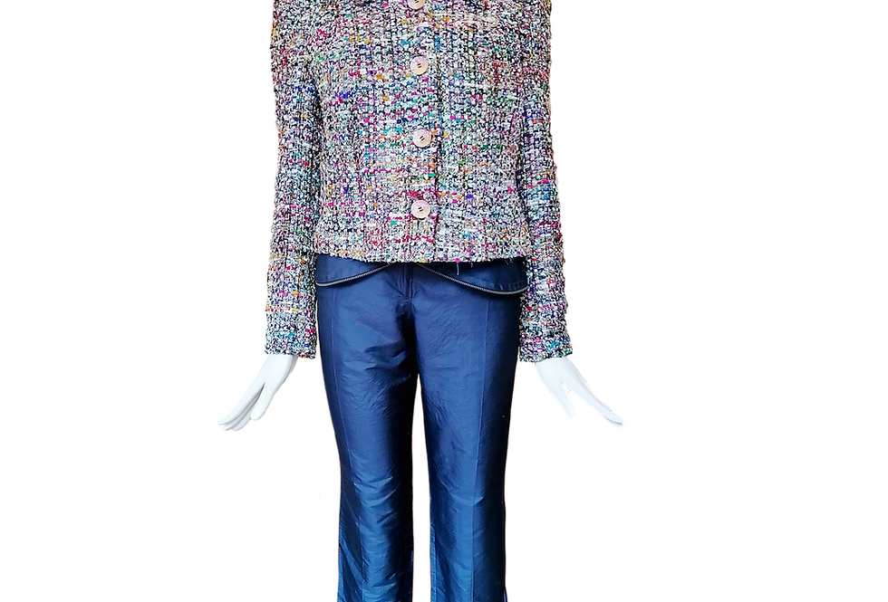 Silk Tweed Jacket