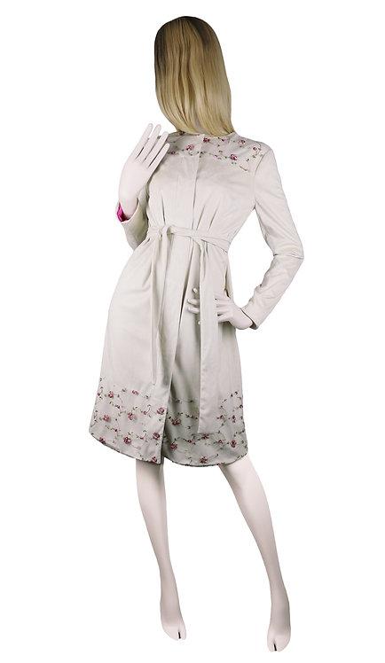 Ivory Suede Coat