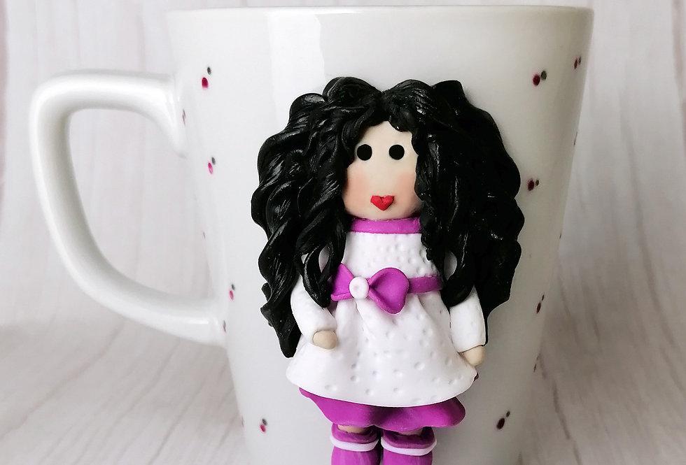 Doll Mug - White