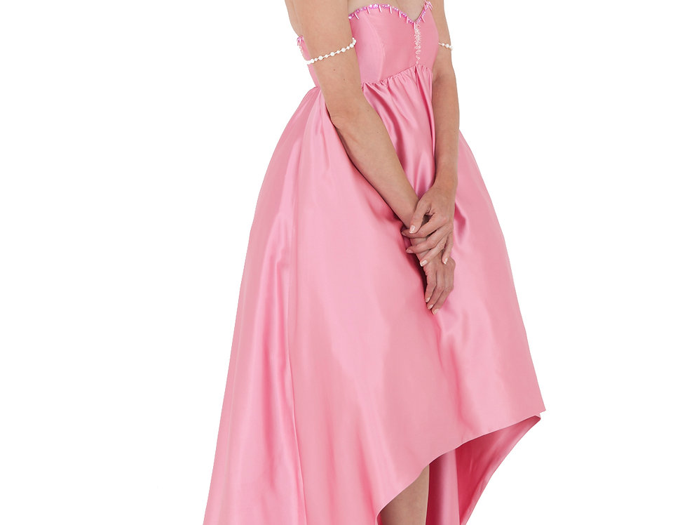 Imperial Silk Satin Gown