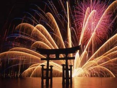 Hanabi: i fuochi d'artificio incendiano l'estate del Giappone