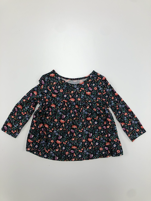 Empire Waaist Floral Dress