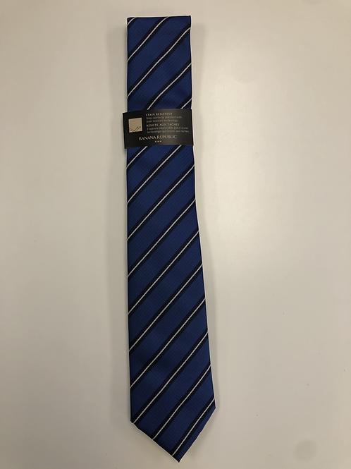 Tie - Navy Striped