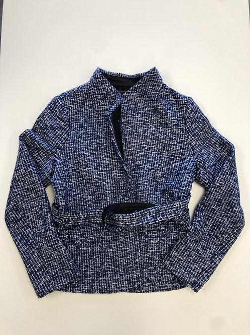 Belted Knit Jacket