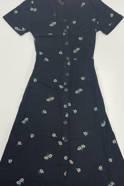 Floral Buttoned Dress