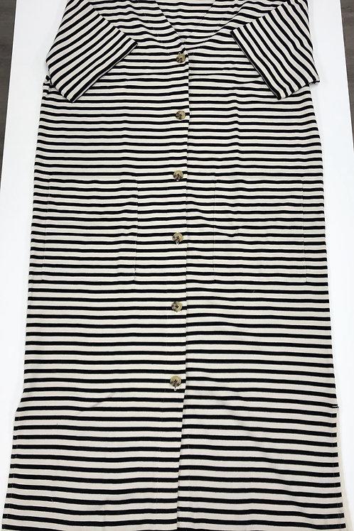 Oversized Striped Dress