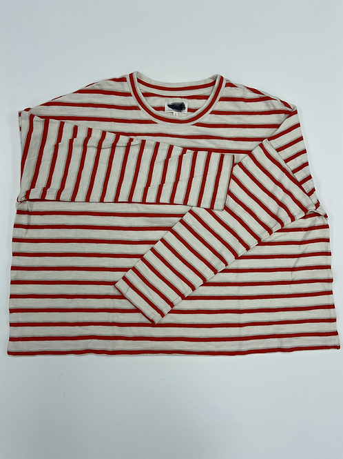 Striped Loose Tee