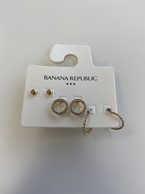 Earrings - 3 Pack Hoops