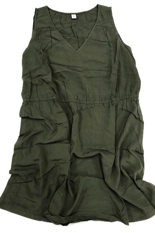 Sleeveless Army Dress