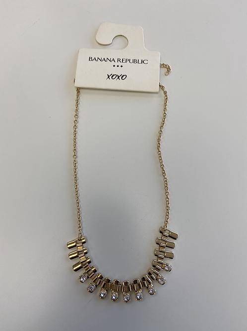 Necklace - Rectangle Gems
