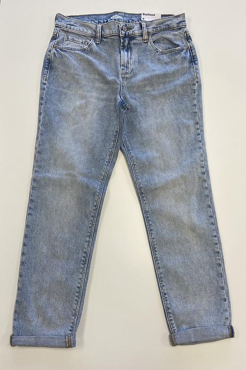Boyfriend Midrise Ankle Length Jeans