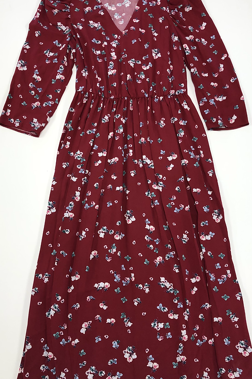 LS Floral Dress