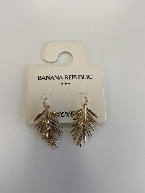 Earrings - Gold Leaf