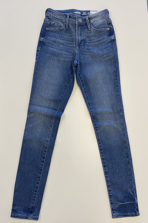 Super Skinny High Rise Jeans - Rockstar
