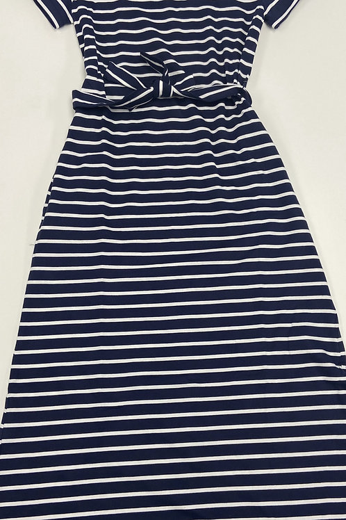 Striped Bow Tie Dress