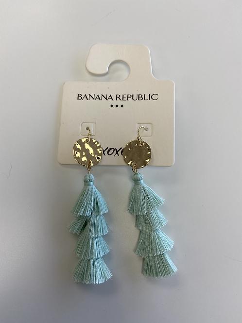 Earrings - Green Frills