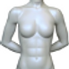 Female Torso with Base with Etched Logo (AD-FT)