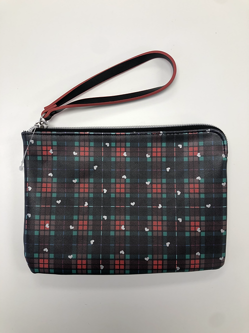 Plaid Clutch