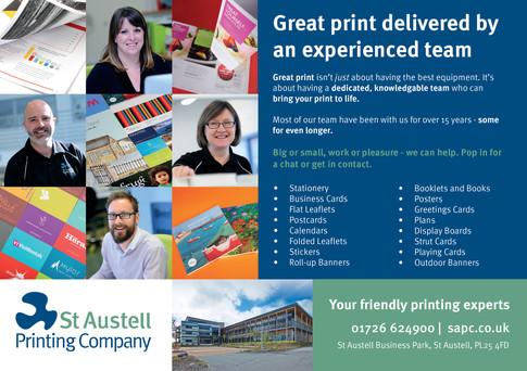St Austell Printing Company