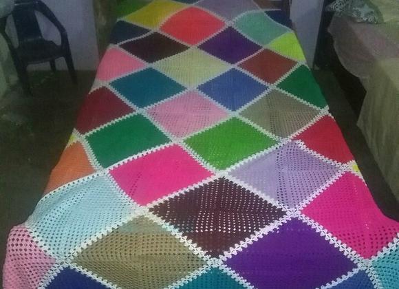 Tendidos para cama en crochet