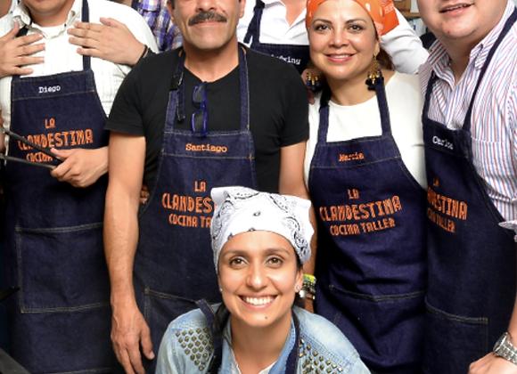 Talleres de Cocina Colectiva en La Clandestina