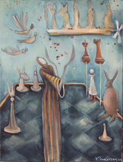 Natasha Turovsky Magic Oil on canvas 20_ x 16_