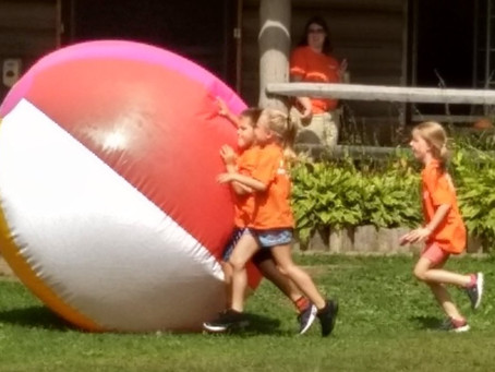 Leaping for Day Camp