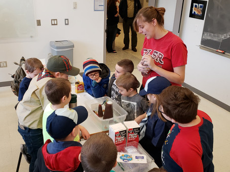 Cub Scout STEM Day at Fredonia