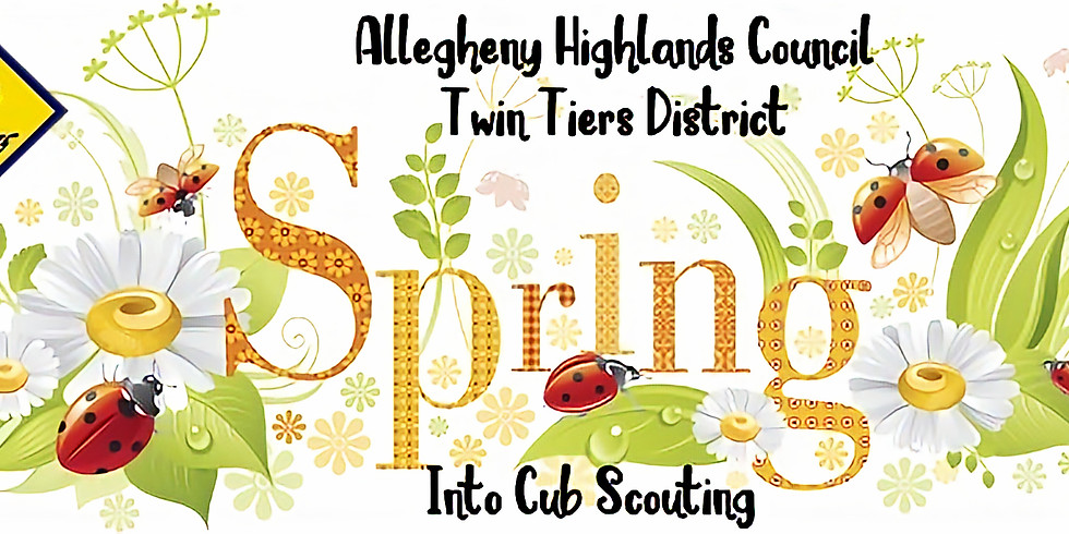 Spring into Cub Scouting