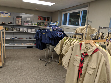 New Scout Shop Opens