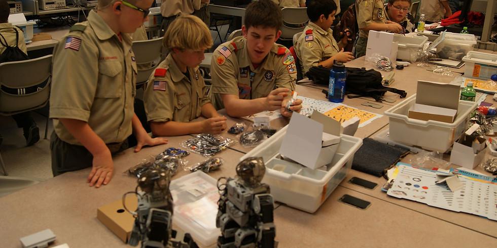 Boy Scout Merit Badge STEM Day Cornplanter Council, Warren PA