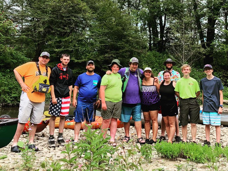 Order of the Arrow Canoe Trip