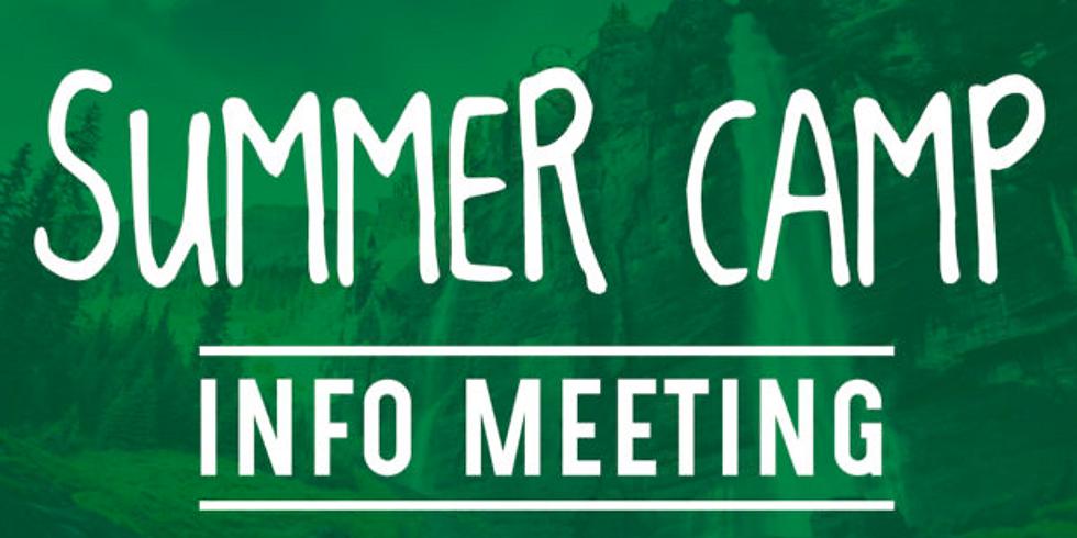 Pre-Camp meeting Option 1 2021