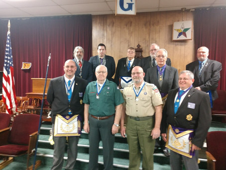 Two Council Scouters Honored for Service to Youth