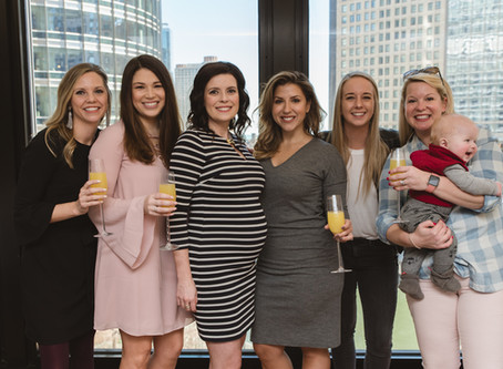 Chicago Baby Shower | Merry Beth| Langham Hotel