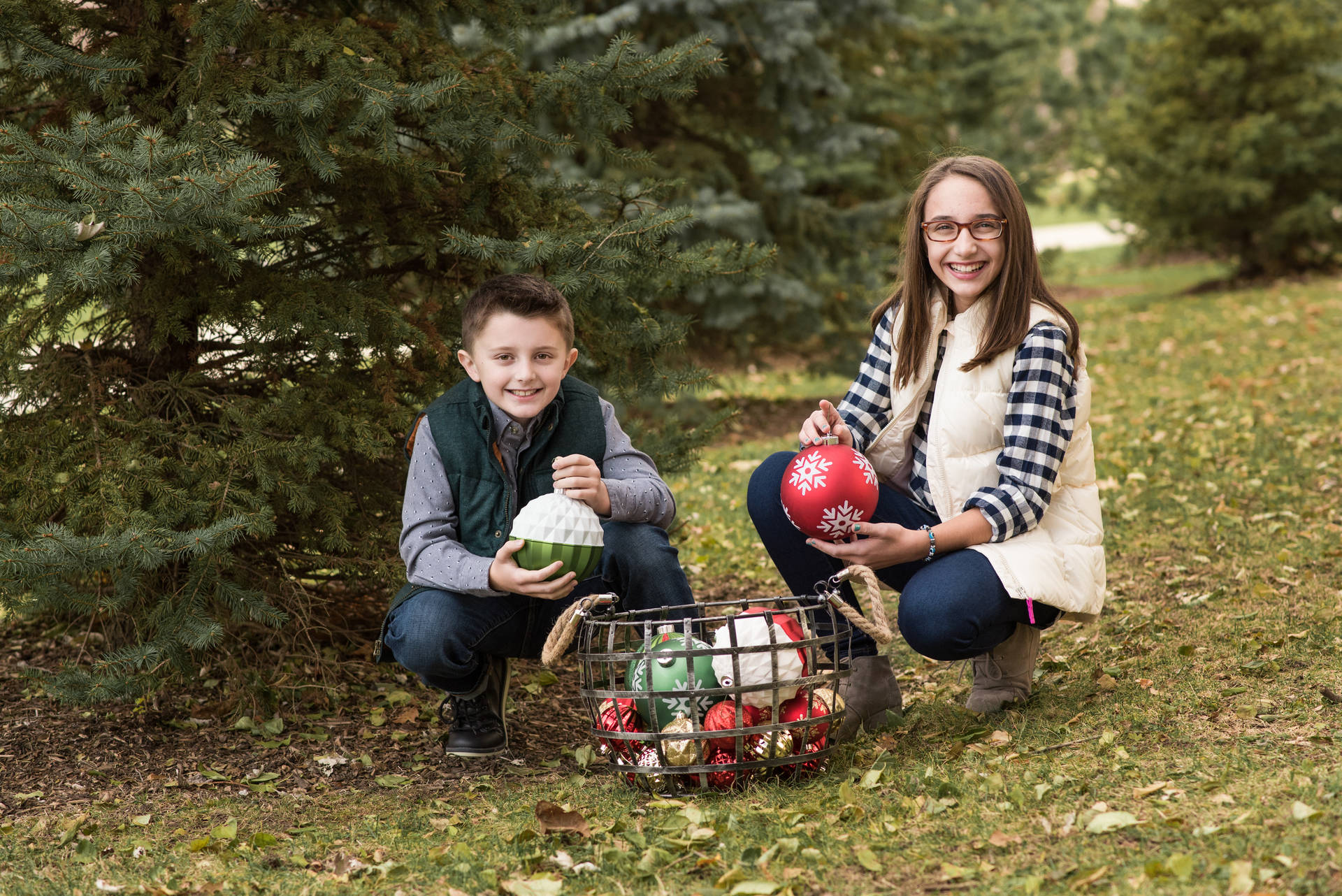 Arlington Heights Christmas Family Photographer