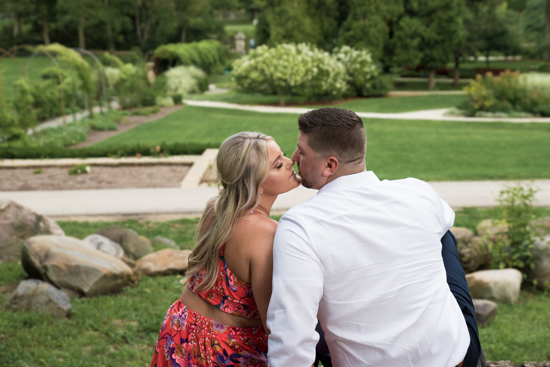 Jessica M. Photography Engagement Photographer Arlington Heights IL