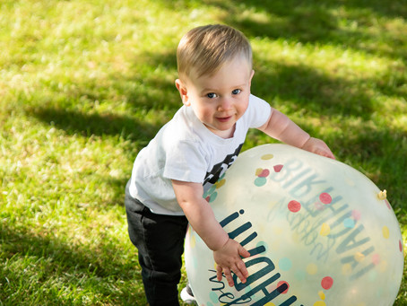 "Mount Prospect Photographer | ""T's"" First Birthday"
