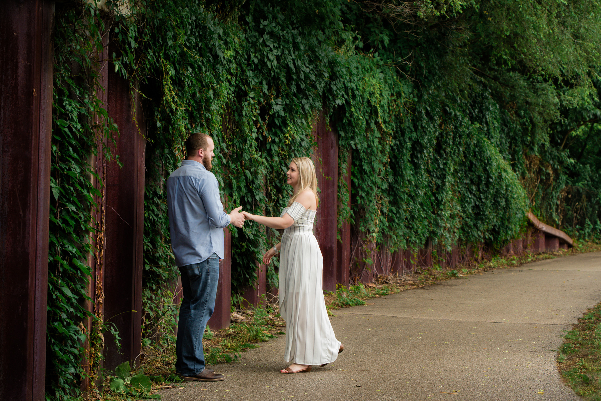 Jessica M. Photography Engagement Photographer Cary IL
