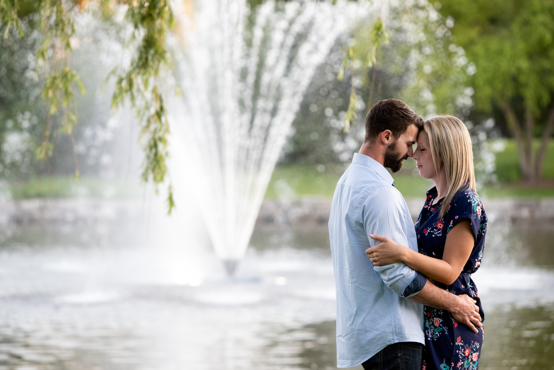 Jessica M. Photography Arlington Heights Engagement Photographer IL