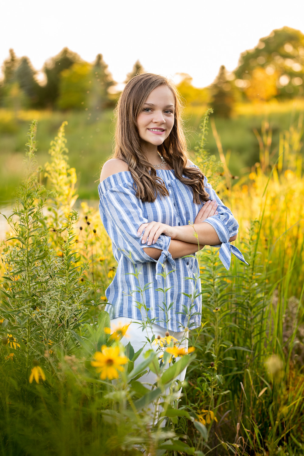 Mount Prospect senior photographer High School