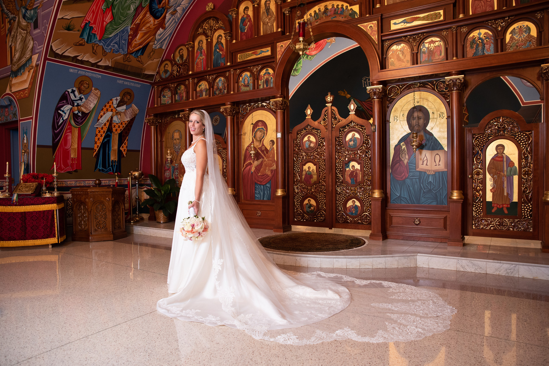 Arlington Heights Wedding Photographer - Annunciation of God Byzantine Church, Homer Glen