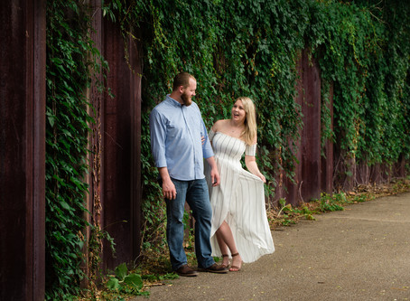 Engagement Session | St. Charles Photographer | Elayna & Bryan